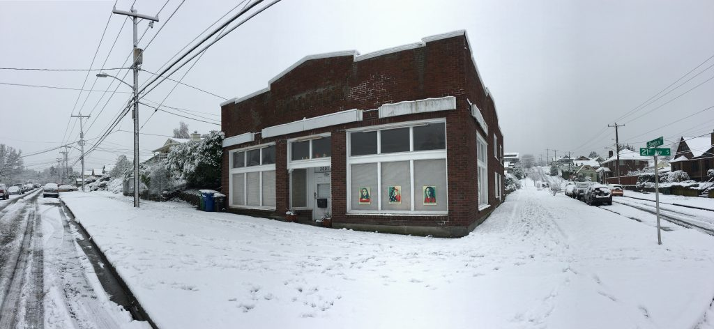 winter exterior view of the grocery 2016