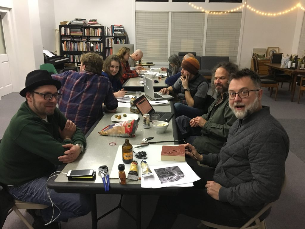 art salon night at the grocery 2017